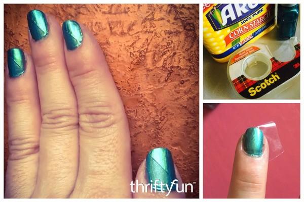 Diy Matte Shiny Nail Art Thriftyfun
