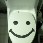 Happy Toilets Won't Overflow