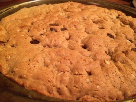 Egg-Free Cookie Cake