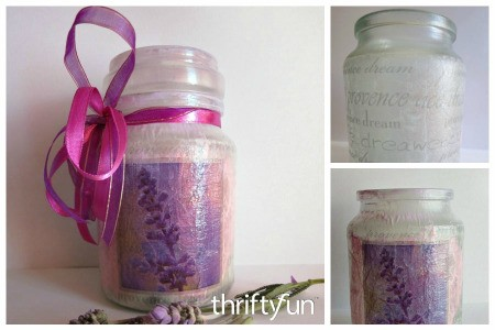 Lavender Infused Sugar Jar