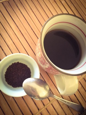 Start Instant Coffee with Cold Water
