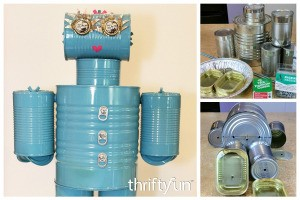 Making a Tin Can Robot