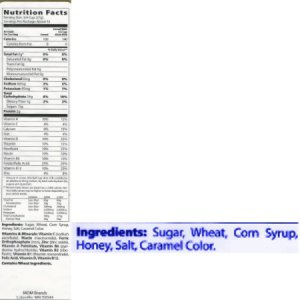 Carefully Read Food Ingredient Labels