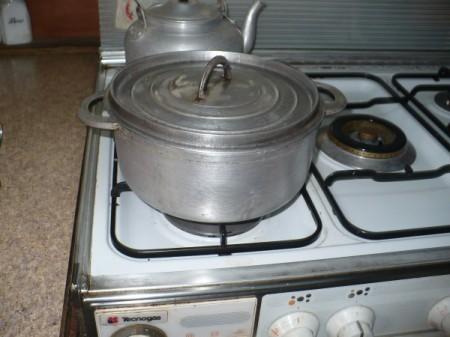 Oven 1 fuel coleman peak