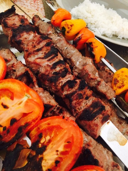 Persian Lamb Kabobs
