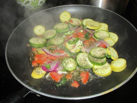 Sautéed Summer Veggies