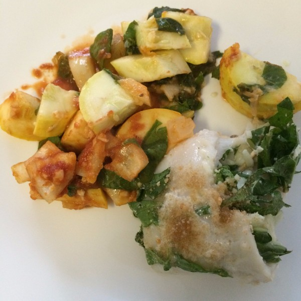 Watch Spinach and Flounder Bake video