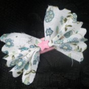 finished bow