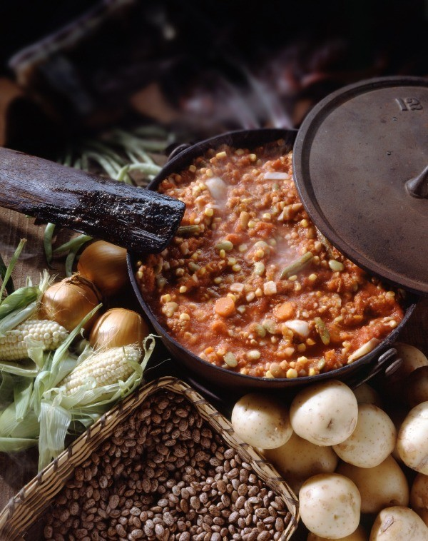 how to make old fashioned brunswick stew