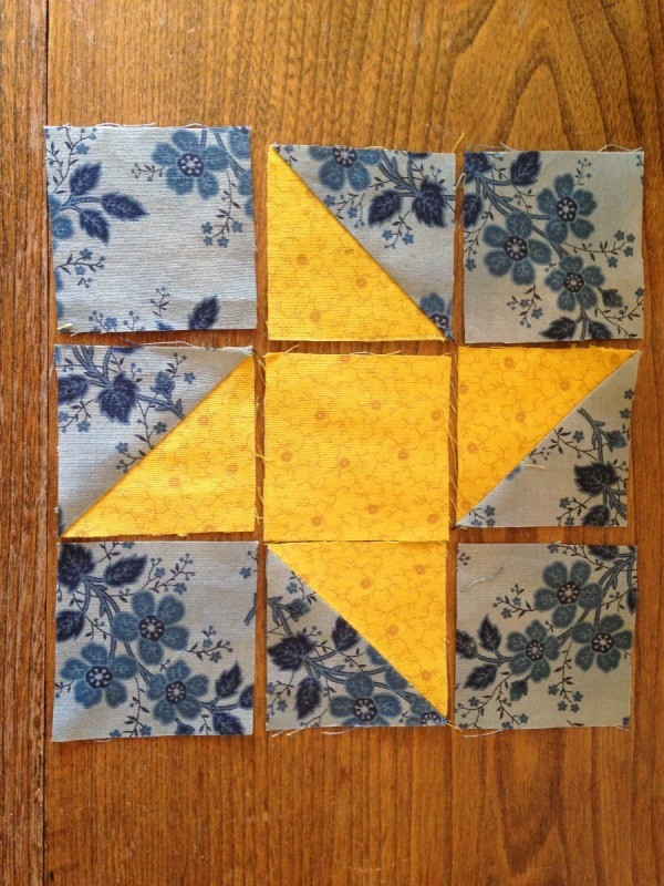 Making A Friendship Star Quilt Block