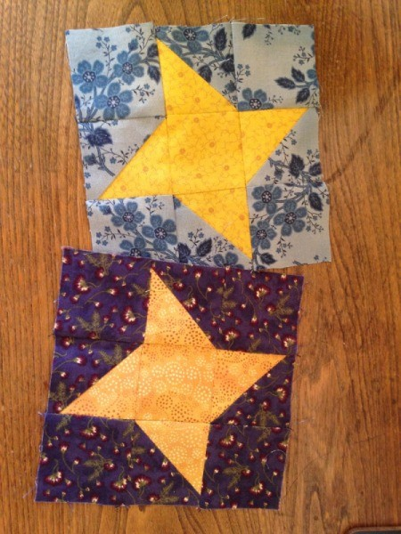 6 Inch Friendship Star Quilt Block