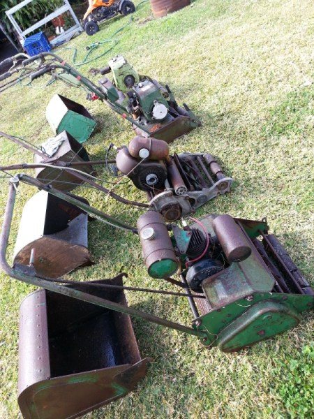 Value of Old Mowers