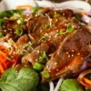 Thai Beef on Salad