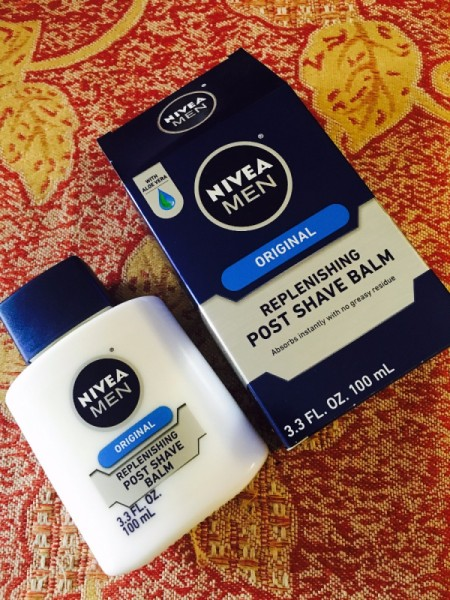 Post Shave Balm as Makeup Primer