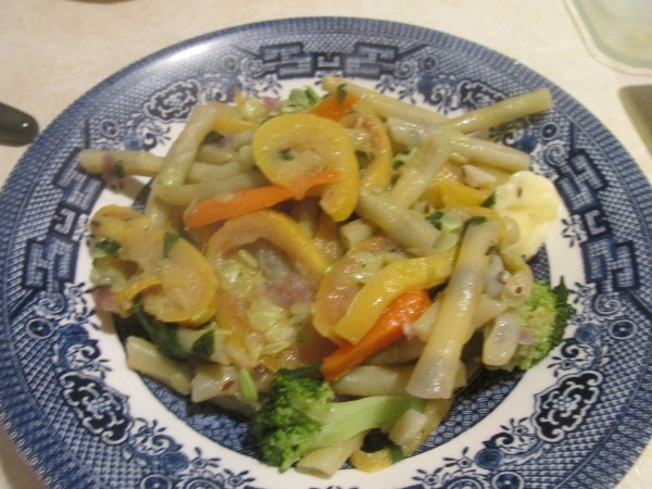 Summer Vegetable Stir Fry