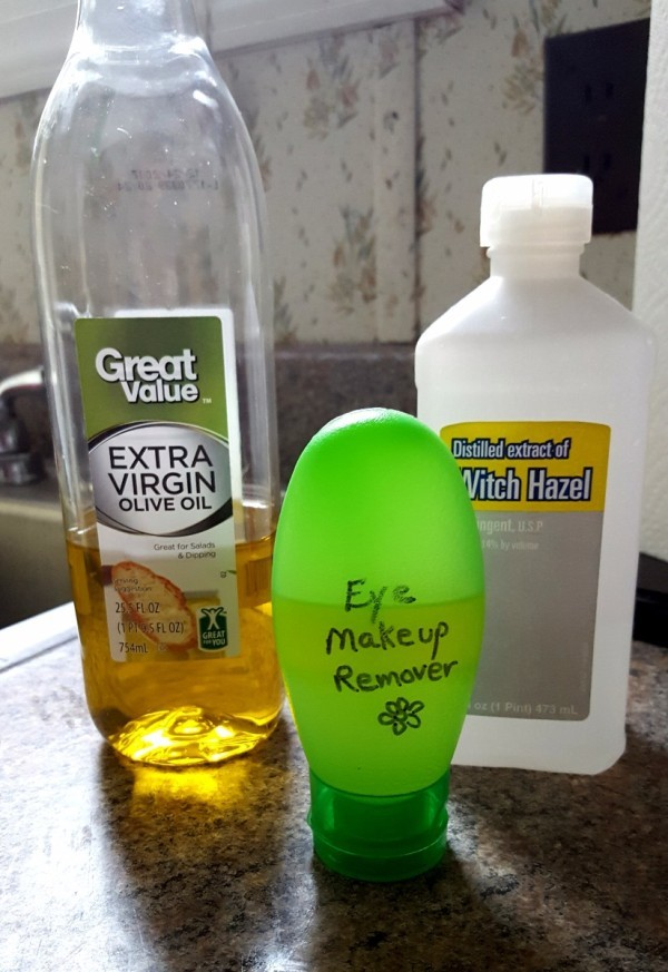 Homemade Eye Makeup Remover Recipe