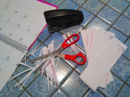 Recycle Old Day Planners into Scratch-Pads