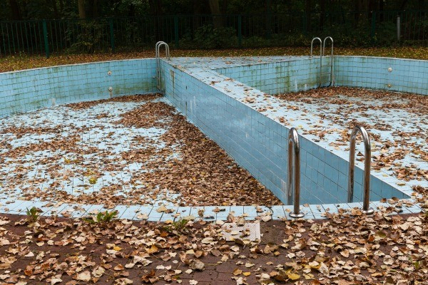 turning a swimming pool into a garden thriftyfun