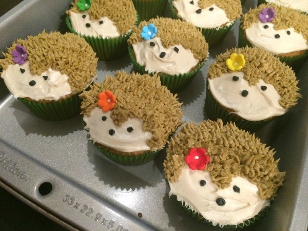 Hedgehog Cupcakes Thriftyfun