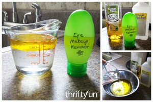 Homemade Eye Makeup Remover Recipes