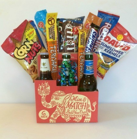 Beer and Snacks Bouquet