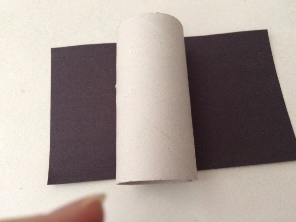 how to cut paper tube