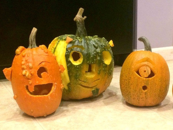 Monster Jack-O-Lanterns