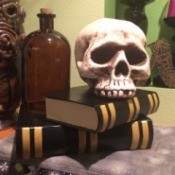Faux Books for Halloween