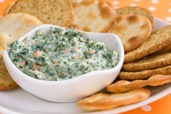 Spinach dip made from Knorr soup mix.