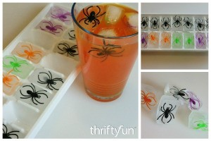 Halloween Ice Cube Ideas