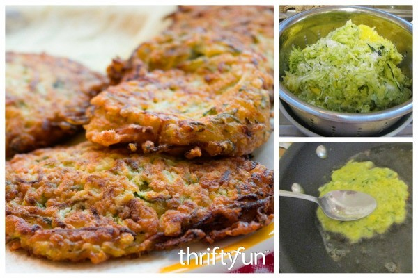 Zucchini Squash Pancake Recipes