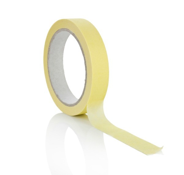 A roll of masking tape, used for painting.