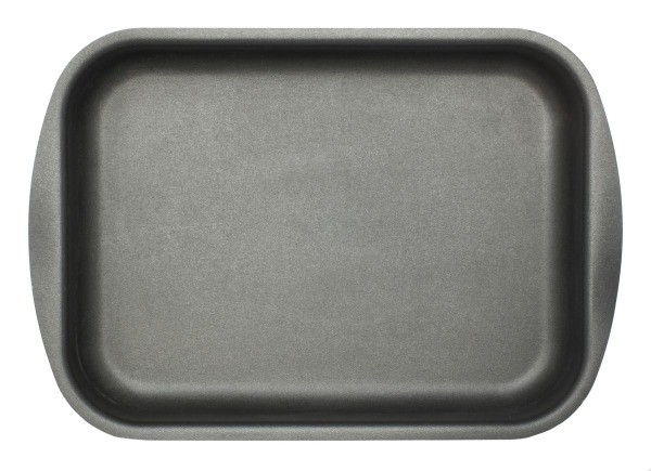 A nonstick baking pan.