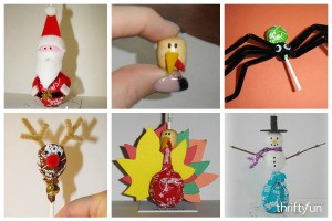 Tootsie Pop Craft Ideas