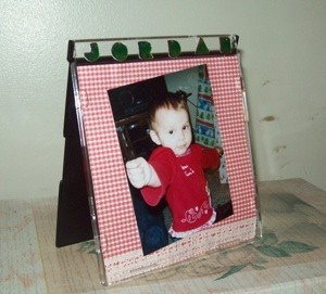 CD Jewel Case Picture Frame