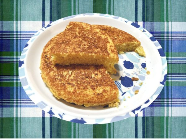 Stovetop Cornbread for One