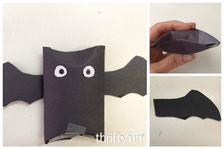 Making Toilet Paper Tube Bats