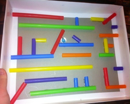 Easy Marble Maze - intricate larger maze