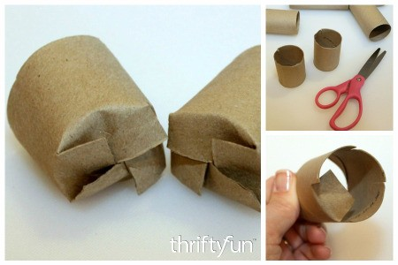 Toilet Paper Tube Seedling Pots