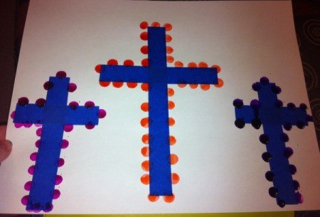 How to Make Cross Silhouettes