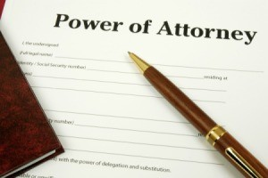 Power of attorney documents.