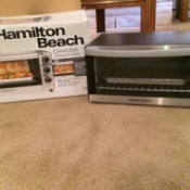 Replacing Small Appliances Inexpensively - toaster oven and box