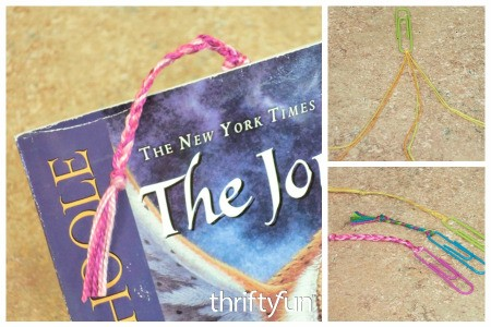 Simple Paperclip Bookmarks