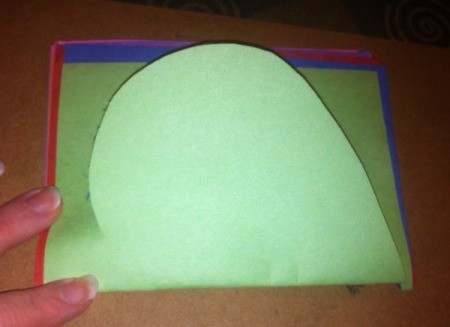 Name Heart Caterpillar - cut the sheets in half and fold in half again, cut out all of your hearts at once or allow child to cut one at a time