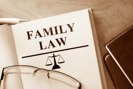 A book that says family law.