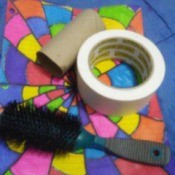 Thrifty Lint Roller Brush - supplies