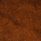 Coffee grounds before brewing.