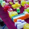 colorful homemade soap