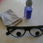 Cleaning Prescription Glasses