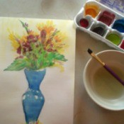 Homemade Watercolor Paint Recipe